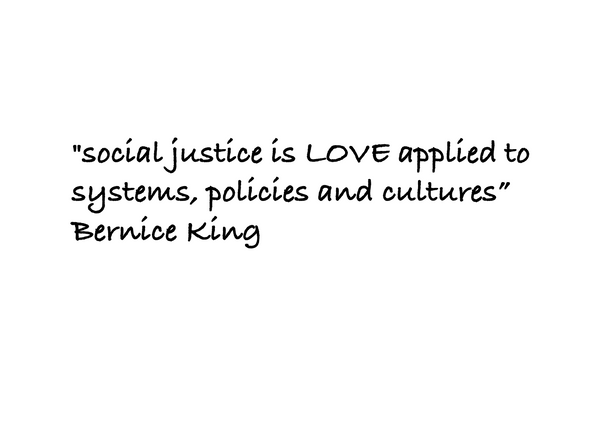 Welcome to Talk Social Justice!